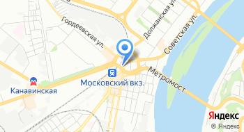 Нижегородский магистрально-сортировочный центр на карте