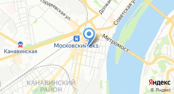 Нижегородский септик на карте