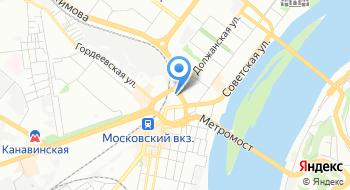 Канавинская Автостанция на карте