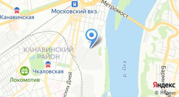 Нижегородский мукомольный завод на карте