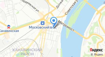 Прокуратура Канавинского района г. Нижний Новгород на карте