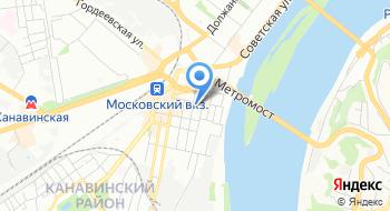 Противотуберкулезный диспансер Канавинского района г. Нижнего Новгорода на карте