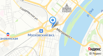Отдел полиции № 2 Управления МВД России по Нижнему Новгороду на карте