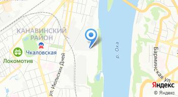 Сервис Грузчиков Нижний Новгород на карте