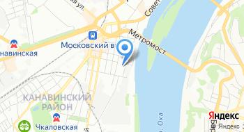 ФКУ ГБ МСЭ Филиал №4 Канавинский на карте