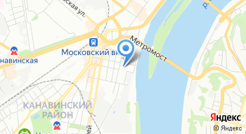 Нижегородский цирк на карте