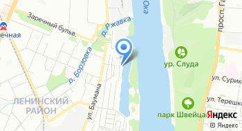 Яхт-клуб Тихая Гавань на карте