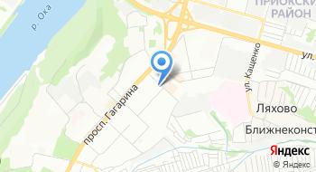 Отдел ЗАГС Приокского района на карте