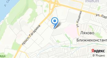 Отдел военного комиссариата Нижегородской области по Приокскому району на карте
