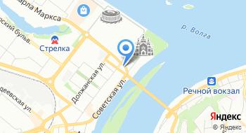 МРЭО ГИБДД ГУ МВД России по Нижегородской области на карте