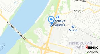 Иномарка-Гагарина на карте