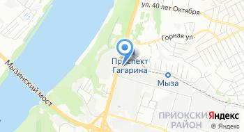 ГАЗ Водо Прибор на карте