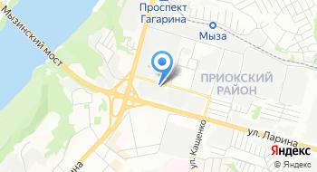 Премакса на карте