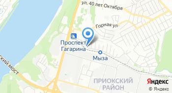 Стряпуха на карте