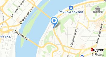 Нижегородская духовная семинария на карте