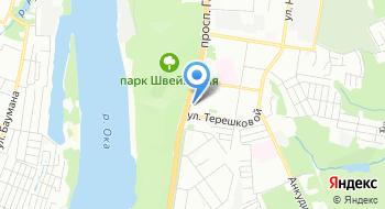 Магазин раков на карте