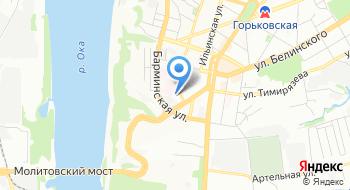 Приволжский региональный центр МЧС России Центр управления в кризисных ситуациях на карте