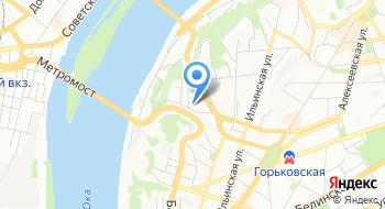 ГБУЗ Но Городская клиническая больница № 38 Нижегородского района на карте