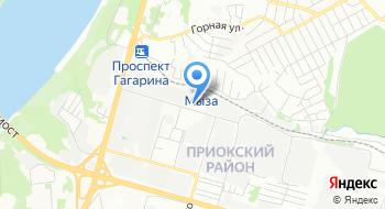 Федеральный научно-производственный центр Нижегородский научно-исследовательский институт радиотехники, комбинат питания на карте