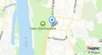 Автозапчасти в Нижнем Новгороде на карте
