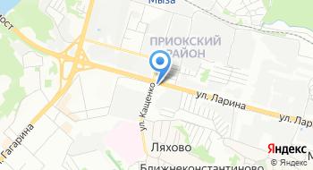 Нижегородский филиал Гамма Монтажной фирмы Радий на карте