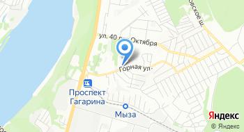 Детская академия на Горной на карте