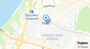 Фгку 1 отряд ФПС по Нижегородской области Псч 32 на карте