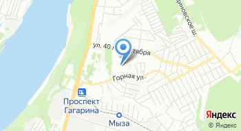 Тест-НН-сервис на карте