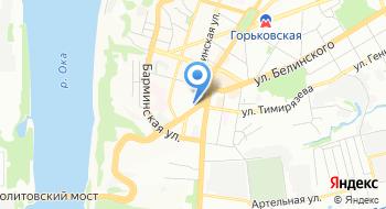 Нижегородский информационный портал Гипорт на карте
