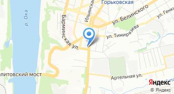 Ветпомощь на дому Нижний Новгород на карте