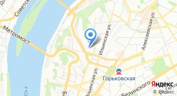 Управление по обеспечению деятельности гражданской обороны и пожарной безопасности Нижегородской области на карте