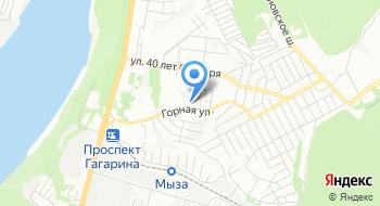 Травматологический пункт Приокского района на карте