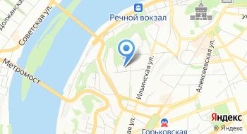 Нижегородский областной неврологический госпиталь ветеранов войн на карте