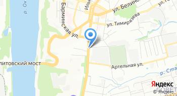 Советское отделение Нижегородского филиала ФГУП Ростехинвентаризация - Федеральное БТИ на карте