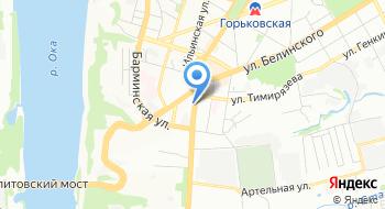 Скрепка на карте