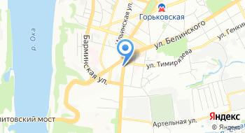 Каптерка на карте