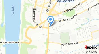 Нижегородский строительный техникум на карте