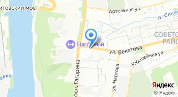 Общежитие Нижегородского строительного техникума на карте