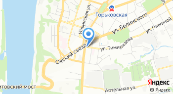 Нижегородская кофейня Кофе Чай на карте