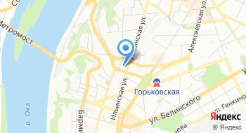Нижегородпассажиравтотранс на карте