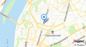 Общественная организация Нижегородское городское объединение Социально-правовая защита на карте