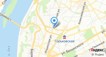 ФКУЗ МСЧ МВД России по Нижегородской области на карте