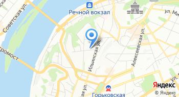 Салон аксессуаров для бальных танцев Эста НН на карте
