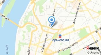 Нижегородский дом Бракосочетания на карте