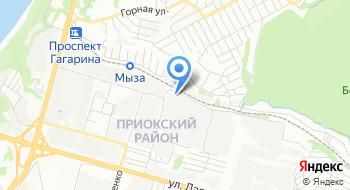 Нижегородский территориальный центр информатизации на карте