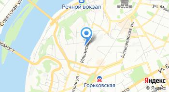 АвтоДетство Н. Новгород на карте