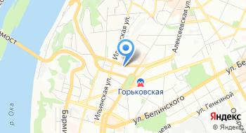 Медсанчасть МВД России по Нижегородской области на карте