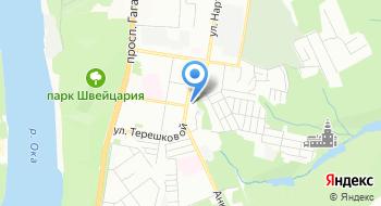 Берег на карте