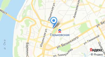НижегородНИИстромпроект Илстром на карте