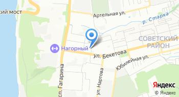 Травматологический пункт Советского района на карте